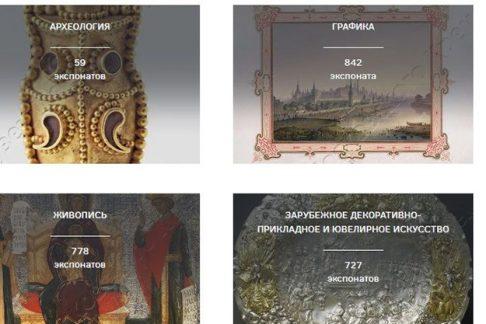 Музеи Кремля: коллекции вонлайн-формате