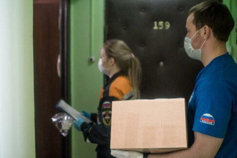 Ксоциальным волонтерам Москвы присоединился Всероссийский студенческий корпус спасателей