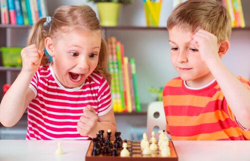 Онлайн-соревнования пошахматам «День Детей»