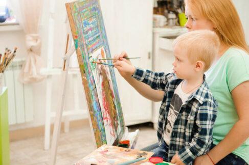 Как устроить арт-терапию сдетьми сментальными нарушениями вусловиях самоизоляции