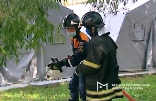 Тренировочные сборы проекта «PROГероев» студенческих добровольных спасательных формирований РТУ МИРЭА