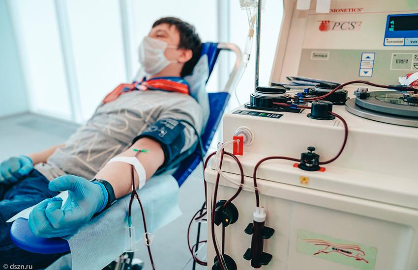 Москвичей приглашают стать донорами плазмы для больных COVID-19