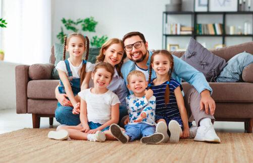 Как выстроить гармоничные отношения вмногодетной семье?