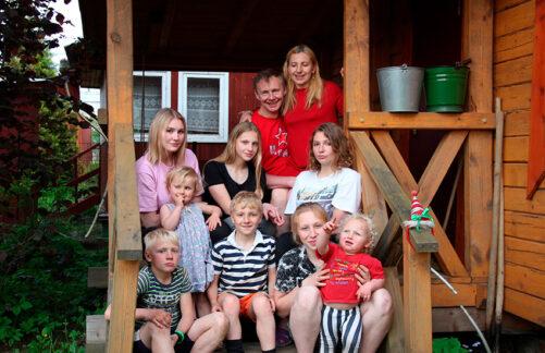 История многодетной семьи Терёхиных изМосквы, которая стала победителем Всероссийского конкурса «Семья года 2020»